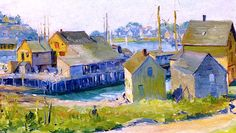 Gloucester Harbor - Late Afternoon Max Kuehne
