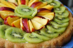 #fruit #tart with #vanilla #cream cheese
