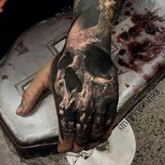 Like the skull, but not on my hand