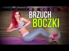 ĆWICZENIA NA BRZUCH I BOCZKI - PEŁNY TRENING - YouTube Youtube, Crossfit, Vogue, Workout, Style, Diet, Swag, Work Out, Youtubers