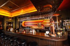 Golden Cadillac, a Seventies-Themed Cocktail Parlor