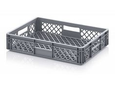 22 Litre Ventilated Perforated Euro Plastic Stacking Container - Stackable Storage Box
