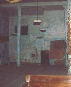 Ohio State Reformatory    Shadow person in door way.