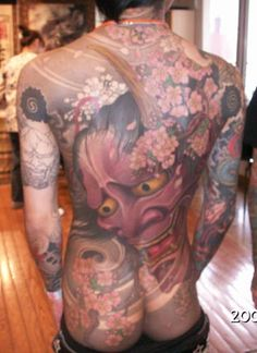 This is not my back. Someone's back tattooed by Shige-san at Yellow Blaze Tattoo. Beautiful and Great work!   We have the latest e-cigarette models and a great variety of e-liquid flavors. Visit us at www.e-cigarilicious.com