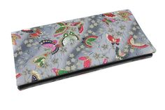 étui livret de famille original en tissu japonais papillons