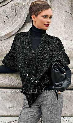http://www.knit-club.ru/modeli/vjazanye-poncho/854-elegantnaya-vyazanaya-nakidka-spicami.html