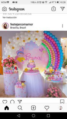 Diy Baby Shower Decorations, Gender Reveal Party Decorations, Diy Wedding Decorations, Birthday Party Decorations, Rainbow Birthday Party, Unicorn Birthday Parties, Birthday Balloons, Unicorn Birthday Invitations, Wedding Balloons