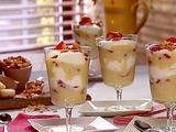 Strawberry and Almond Cream Parfait Recipe by Alex Guarnaschelli