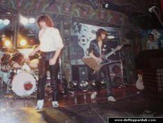 Def Leppard Tour History - Edinburgh 1980