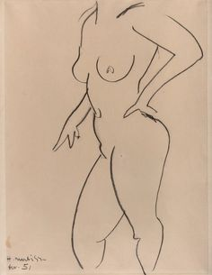 Henri Matisse line drawing Henri Matisse, Life Drawing, Figure Drawing, Post Impressionism, Famous Artists, Sculpture Art, Printmaking, Collages, Art Forms