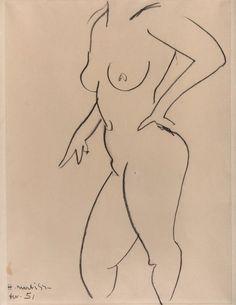 Henri Matisse line drawing Henri Matisse, Life Drawing, Figure Drawing, Post Impressionism, Sculpture Art, Printmaking, Collages, Modern Art, Artwork