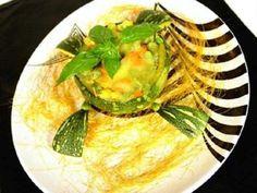 Calabacines gratinados con queso. Un primer plato sano, ligero y fácil de preparar.