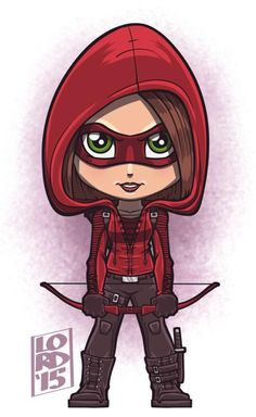 #Speedy!!! Glad 2 c Thea officially masked up & on the team!!! #Arrow #TheaQueen #WillaHolland #lordmesaart