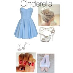 """""""Untitled #43"""" by pjo-and-hetalia on Polyvore #IceCarats http://www.icecarats.com/Sterling-Silver-15.25X10.15-Mm-Disney-Cinderella-Tiara-earrings-W-Box-424013.aspx"""
