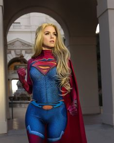 Armoredheartcosplay as Supergirl Marvel Cosplay, Superhero Cosplay, Anime Cosplay, Cosplay Girls, Pokemon Cosplay, Dc Comics, Supergirl Outfit, Supergirl Superman, Batman