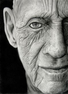 Hyper-Realistic - Life Snapshot Drawings. Not a photo, they are drawn using charcoal and graphite on paper.