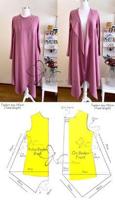 Blouse Patterns, Clothing Patterns, Blouse Designs, Bodice Pattern, Tunic Pattern, Underwear Pattern, Sewing Clothes Women, Dress Making Patterns, Fashion Sewing