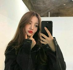 Find images and videos about girl, style and aesthetic on We Heart It - the app to get lost in what you love. Korean Beauty Girls, Pretty Korean Girls, Cute Korean Girl, Asian Beauty, Asian Woman, Asian Girl, Korean Hair Color, Korean Girl Photo, Foto Casual