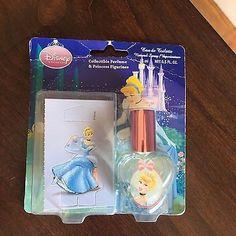 Disney Princess Collectible Perfume & Princess Figurines .5oz 2