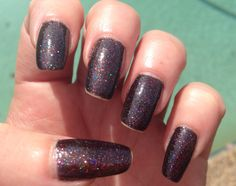 """Morgan Taylor """"New York state of mind"""" - so sparkly and pretty."""