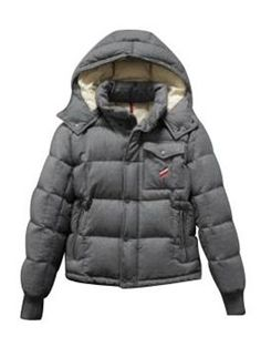 sale retailer 0538f 9a2f4 Moncler Mens Down Jacket Gray. The jacket worn buy Daniel Craig in Girl  with the