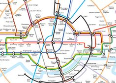 """Who knew the tube map actually makes its own """"Underground"""" logo??"""