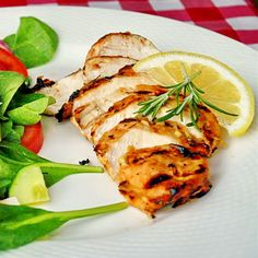 Lemon and Rosemary Marinated Grilled Chicken - Rock Recipes