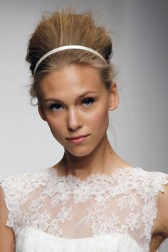 Hair and make-up inspiration from the spring 2013 bridal collections gallery - Vogue Australia