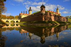 Nesvizh Castle , Belarus #World heritage