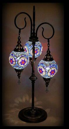 Mozaik lamp