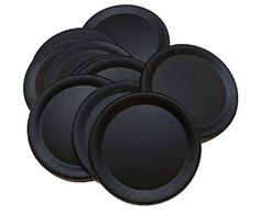 Chalkboard Mason Jar Lids (Regular Mouth) Chrisman Mill F...