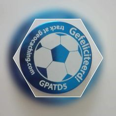 Now here's a nice geocaching trackable for soccer fans. Geocaching, Soccer Fans, Travel Bugs, Tbs, Discovery, Coins, Track, Nice, Coining