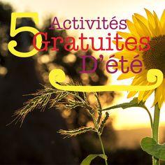 5 activités d'été gratuites à mon image. Sur mon blog vivrepourmoi.com #activités #gratuites #été #économiser #vivresimplement #vivrepournous Movies, Movie Posters, Blog, New Life, Film Poster, Films, Popcorn Posters, Blogging, Film Posters