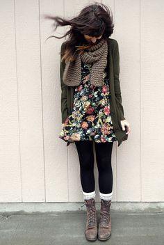 #Vestido #flores