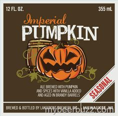 mybeerbuzz.com - Bringing Good Beers & Good People Together...: Lakefront - Imperial Pumpkin