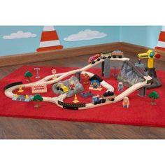 Bucket Top Construction Train Set - Kidkraft Furniture - 17805