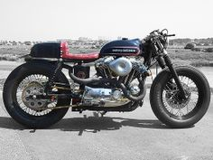 Mod Cafe First by Hide Motorcycle - 1996 Harley-Davidson XL1200S
