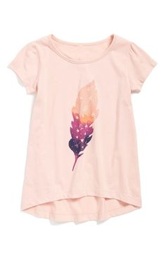 Tucker + Tate High/Low Graphic Tee (Toddler Girls, Little Girls & Big Girls) | Nordstrom