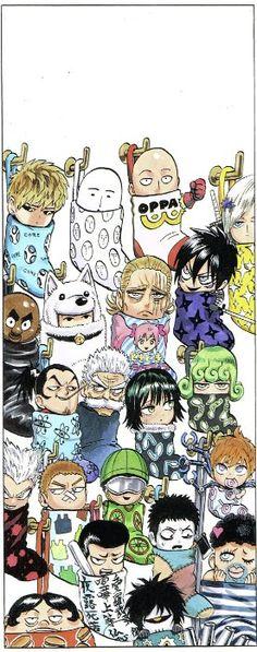 One Punch Man 1, One Punch Man Funny, One Punch Man Anime, Anime One, Otaku Anime, Manga Anime, Saitama Sensei, Chibi Wallpaper, Basic Drawing