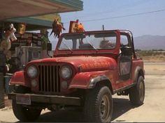 Sarah Connor's jeep in Terminator I