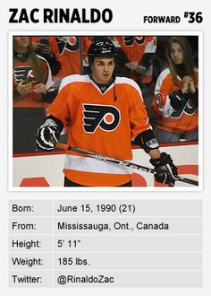 Flyers forward Zac Rinaldo is blogging the Stanley Cup playoffs for Philly.com. Read more of his postshere.