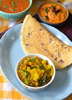 Cant believe how delicious this simple South Indian style Alu sabzi is, without any unnecessary spices. For your Dosas and Rotis.