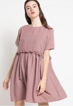 Kiara Dress from ECLAT APPAREL in pink_1