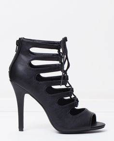 LACE UP: Spurr Adriana Heels. Tap image to see more at THE ICONIC.