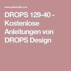 DROPS 129-40 - Kostenlose Anleitungen von DROPS Design