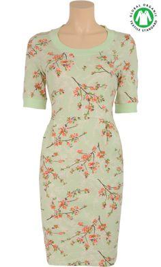 Sweat dress Spring grove fair green