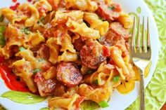 Spicy Sausage Pasta | Kevin & Amanda's Recipes | Food & Travel Blog