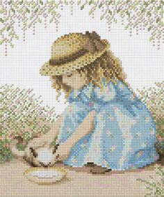 My Kitten cross stitch kits