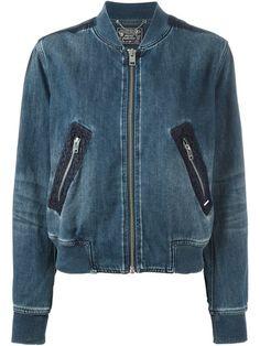 Compre Diesel Jaqueta bomber jeans em Vitkac from the world's best independent boutiques at farfetch.com. Compre em 400 boutiques em um único endereço.