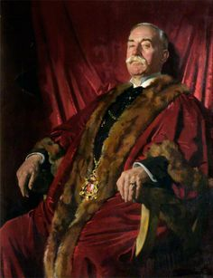 Sir William Meff, Lord Provost of Aberdeen (1911–1925)  by Sir William Orpen (Irish 1878-1931)